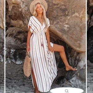 Vici Boutique Radiant Maxi Dress NWTGS